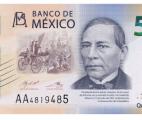 500 pesos frente