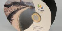 Moneda Bronce Río 2016