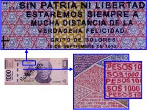 microimpresion 1000 pesos