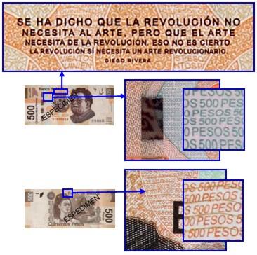 microimpresion 500 pesos