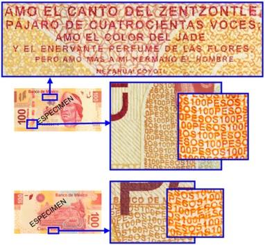 microimpresion 100 pesos