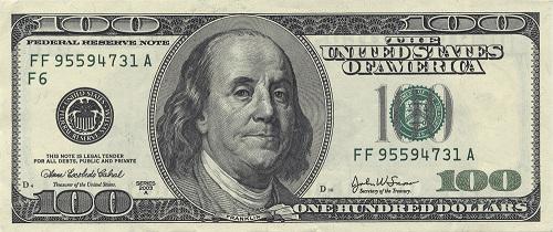 Billetes De Dólares Cambio Peso Dolar