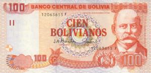 cambio boliviano peso
