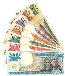 USD/DOP - Dólar estadounidense Peso dominicano