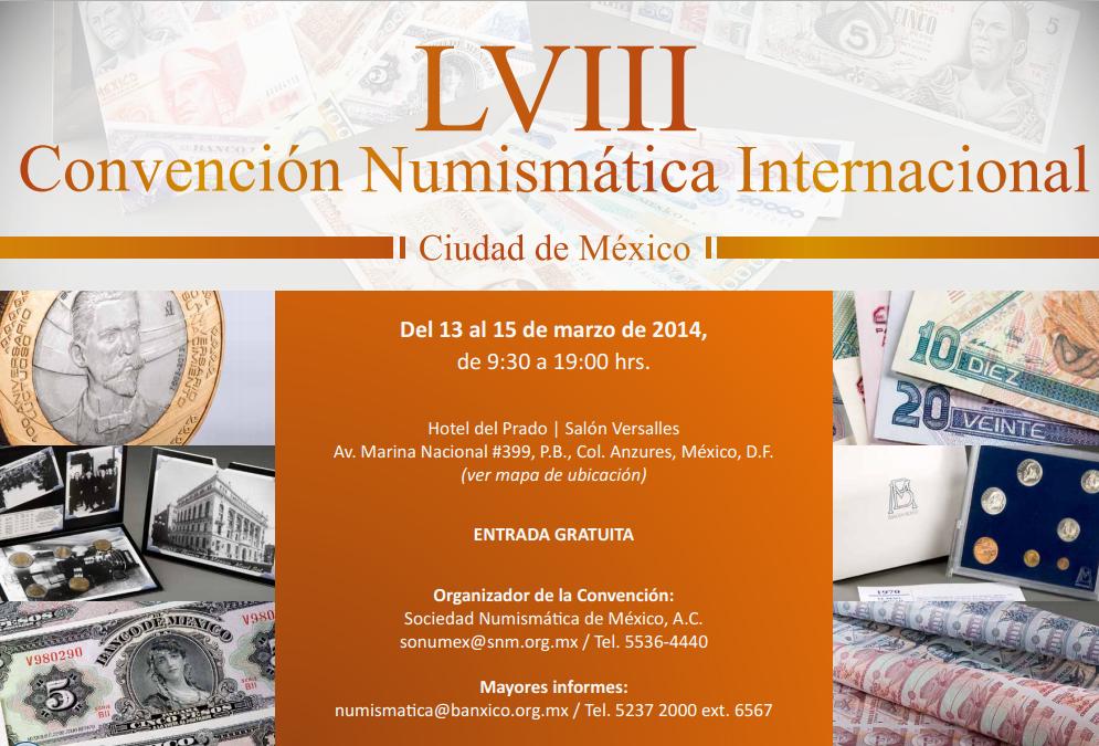convencion numismatica internacional LVIII