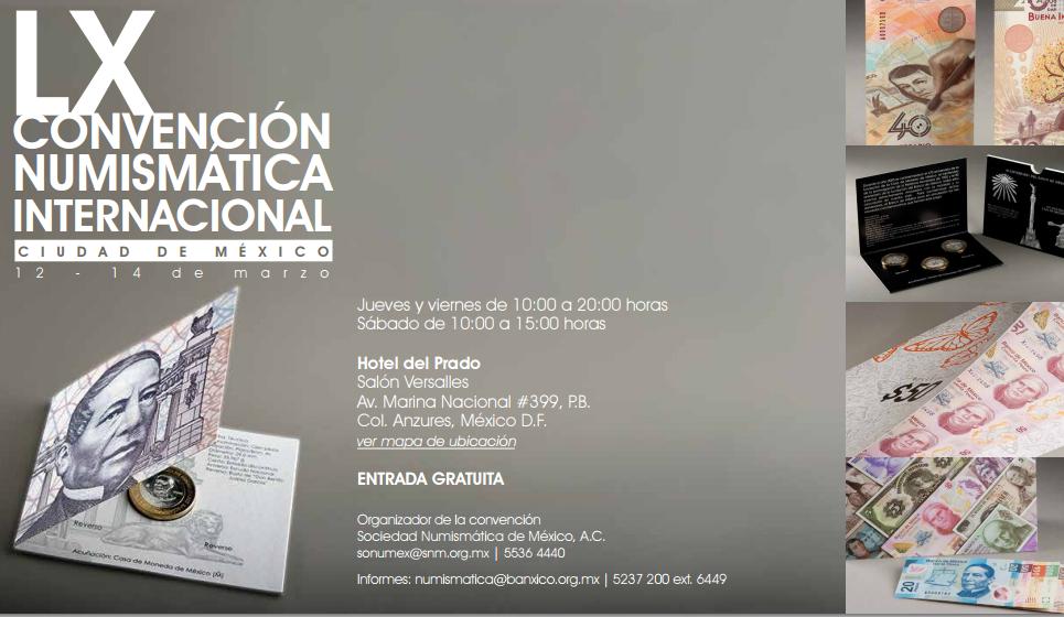 convencion numismatica internacional LX