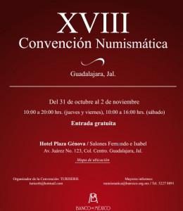 convencion numismatica xviii 2013