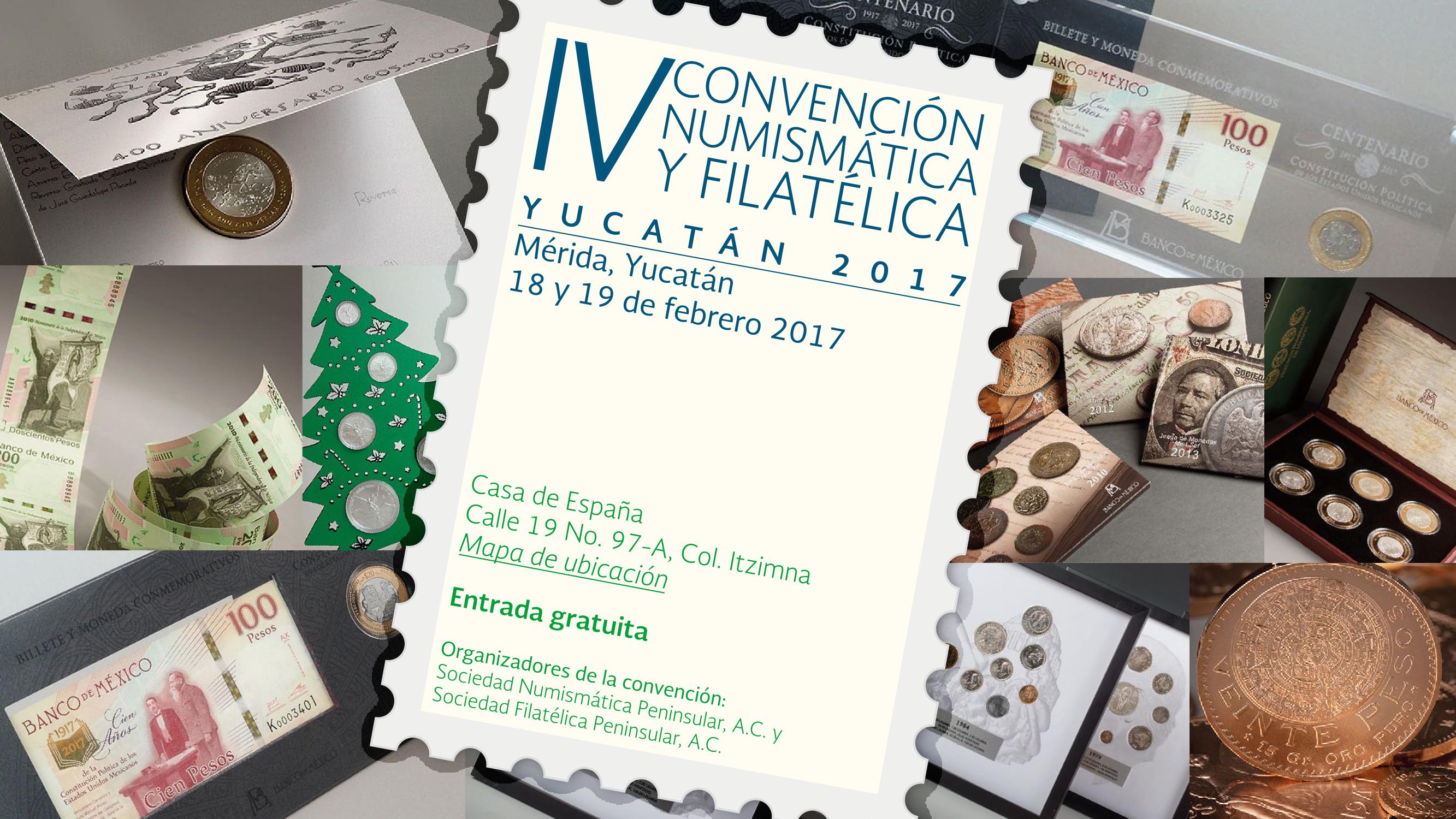 convencion numismatica yucatan
