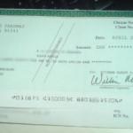 ¿Dónde cambiar un cheque en dólares?