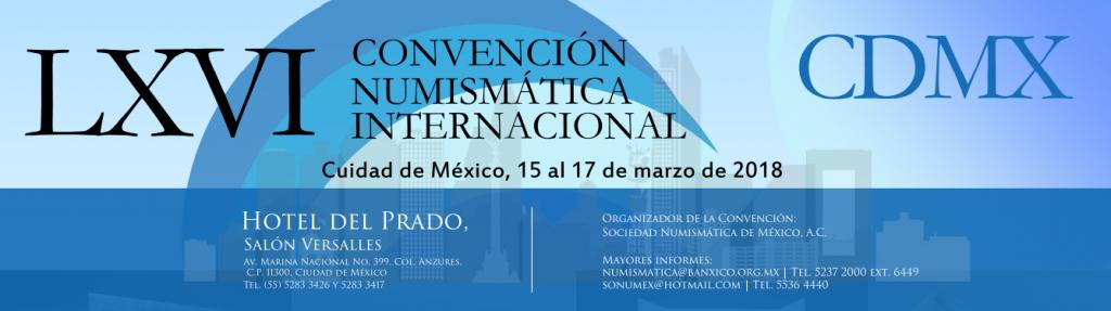 lxvi convención numismatica internacional CDMX