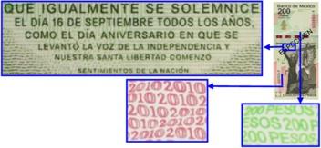microimpresion 200 pesos conmemorativo