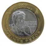 Nueva moneda 20 pesos