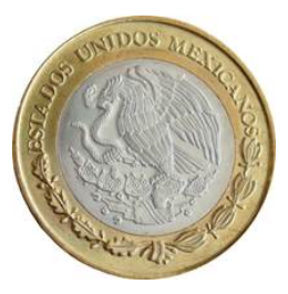 moneda conmemorativa 20 pesos 2013