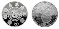 moneda plata octava