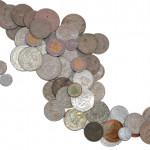 Valor actual de monedas fuera de circulación