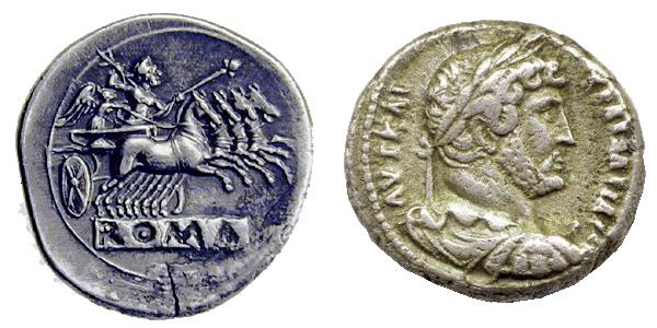 Monedas Romanas - Cambio Peso Dolar