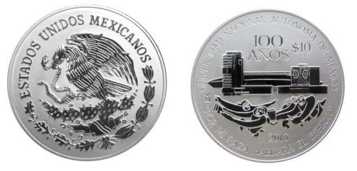 El Banco De México Banxico Dio A Conocer Que Hoy Pone En Circulación La Moneda Plata Conmemorativa Del 100 Aniversario Fundación