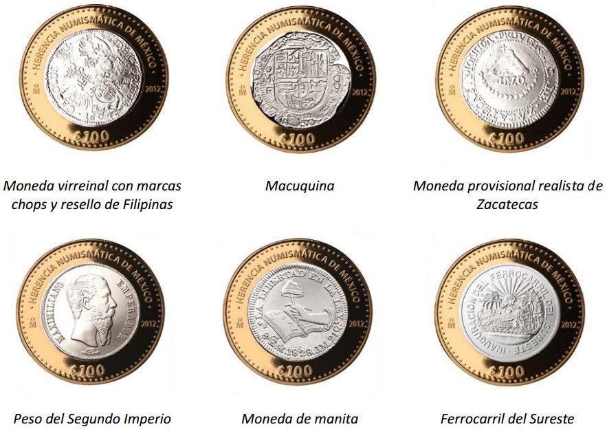 reversos monedas herencia numismatica