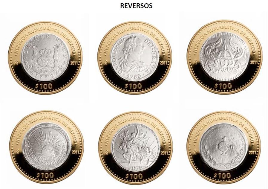 reversos monedas