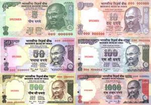 rupia india