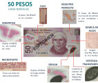 seguridad billete 50 pesos